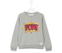 Sweatshirt mit Paillettenstickerei