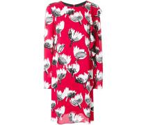 Kleid mit Rüschenbesatz - women - Viskose - 44