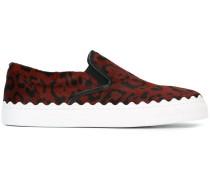 'Ivy' Sneakers mit Leoparden-Print