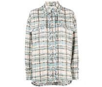 Tweed-Jacke mit Knöpfen