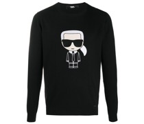 Fein gestrickter 'K/Ikonik' Pullover