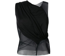panelled tank top