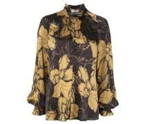 'Roswell' Bluse mit Blumen-Print