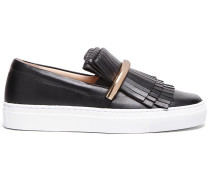 'Amy1' Slip-On-Sneakers mit Fransen