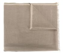 Schal mit Zierstreifen - men - Baumwolle