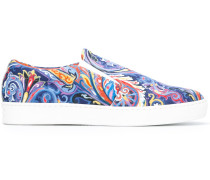 'Slip-On-Sneakers' mit Paisley-Muster