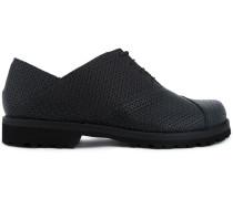Oxford-Schuhe mit dicker Sohle