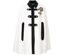 embroidered cape