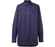 'Garment Dyed' Hemd mit Tasche