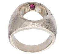 'Mine' Ring mit Rubin