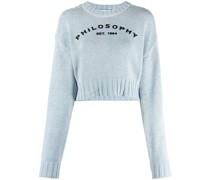 Bestickter Pullover