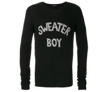 'Sweater Boy' Kaschmir-Seidenpullover