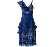 asymmetric lace dress