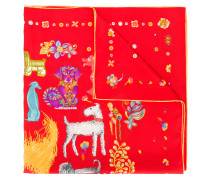 Chinese New Year Puppies scarf