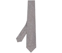 Krawatte mit geometrischem Print