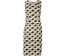 Kleid mit geometrischem Muster - women