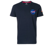 T-Shirt mit Nasa-Print