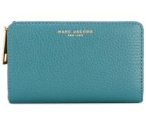 Gotham compact wallet - women - Kalbsleder