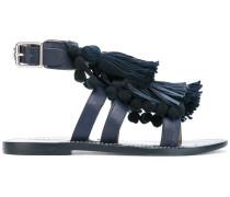 Sandalen mit Quasten - women - Leder/rubber - 35