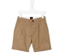 Chino-Shorts mit Knopfverschluss