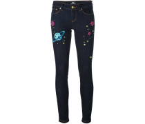 'Hoh x Lee Collaboration' Skinny-Jeans