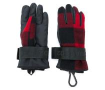 Handschuhe mit Karomuster