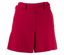 side buttoned fastening shorts