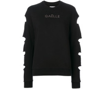 cut out long sleeved jumper