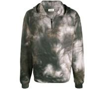 'Storm' Sweatshirt mit Batikmuster