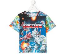 'Transformer' T-Shirt mi Logo-Print