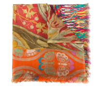 woven printed scarf