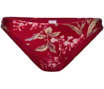 Bikinihöschen mit Blütenmuster