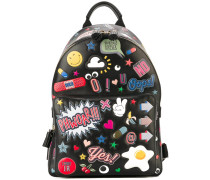 'All Over Stickers' Rucksack