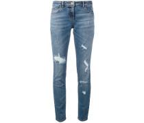 Jeans mit DistressedOptik