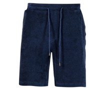 Flanell-Shorts mit Kordelzug