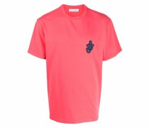 T-Shirt mit Anker-Patch