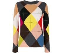 Pullover mit Diamant-Muster