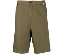 Ausgestellte Mid-Rise-Shorts