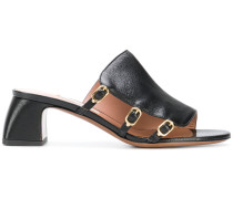 buckled mules