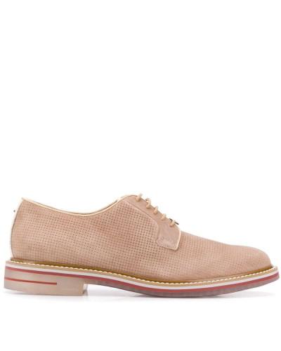 Perforierte Derby-Schuhe