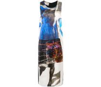 Kleid mit abstraktem Print