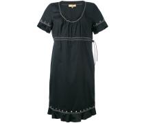 Kleid mit Ösen - women - Baumwolle/Elastan - XXL