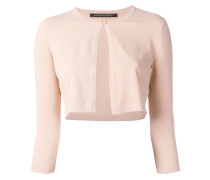 - cropped fitted jacket - women