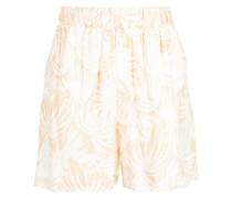Shorts mit Hawaii-Print