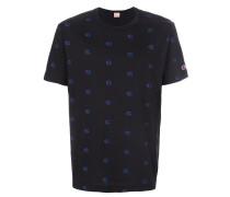 pattern print T-shirt