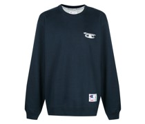 'Champion 3D' Sweatshirt im Metallic-Look
