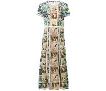 Seidenkleid mit Print - women