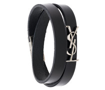 logo wrap bracelet