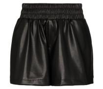 Shorts in Lederoptik