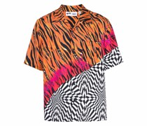 Hemd mit Print-Mix